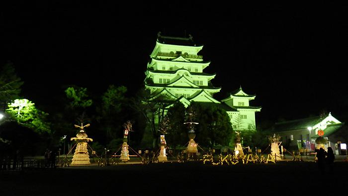 福山城あかりまつり