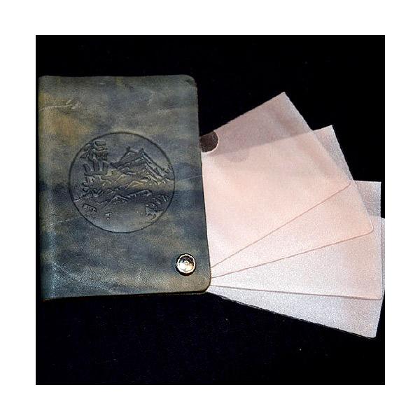福山レザー カードケース