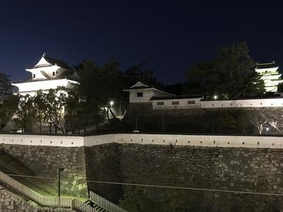 福山城ライトアップ